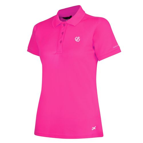 Women's Set Forth Polo Shirt Cyber Pink